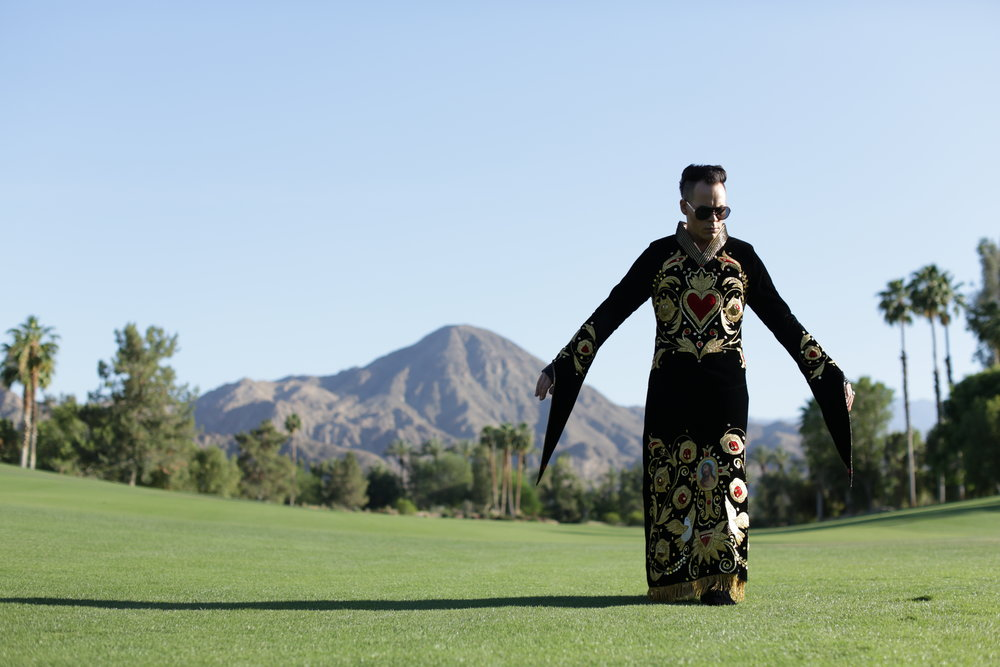 Empire of the Sun frontman Luke Steele ponders illusions, cross-sexuality, and gluing the ancient with the future.    click here to watch...