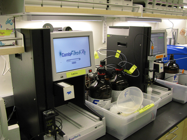 We have two Teledyne ISCO Combiflash instruments for automated flash chromatography
