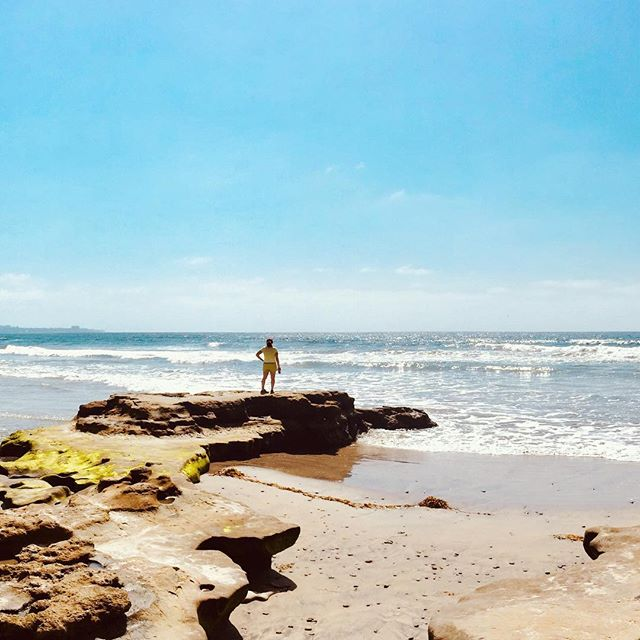 My dear friend took me to the EPIC tide pools in San Diego! Simply beautiful and truly amazing! This world is incredible, you guys!! There's so much to explore!! To see the whole pic check out my profile :) #panoramic . . . . #homeiswhereyouparkit #glamping #surf #ripcurl #pacificcoast  #travel #travelphotographer #vanlifemovement #tinyhouse #love #earthpix #minimalist #adventuremobile #vanlife #vanlifers #vanlifemovement #vanlifestyle #vanlifediaries #projectvanlife #vanlifesociety #homeonwheels #vanlifeideas #wanderlust #vanlifedistrict #ontheroad #tidepools #sandiego #california #explore
