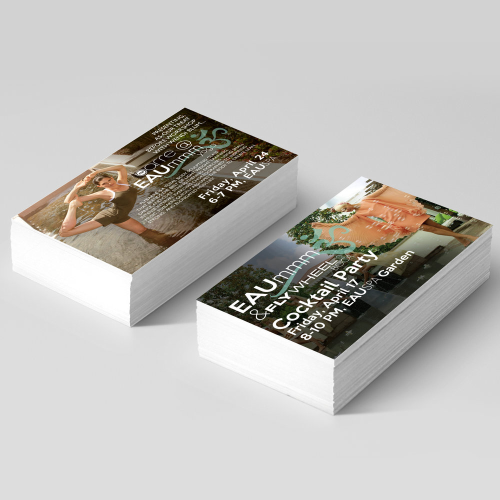 Eau Spa  Flyer Design