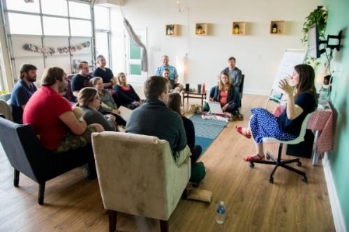My Birth class in the mybirth community studio