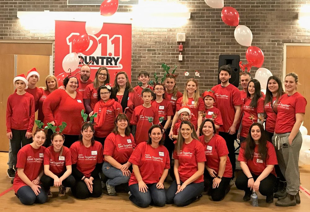 The AMazing team from rogers, who made the holiday party a reality!
