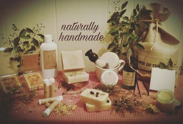 Handmade organic goat milk soaps