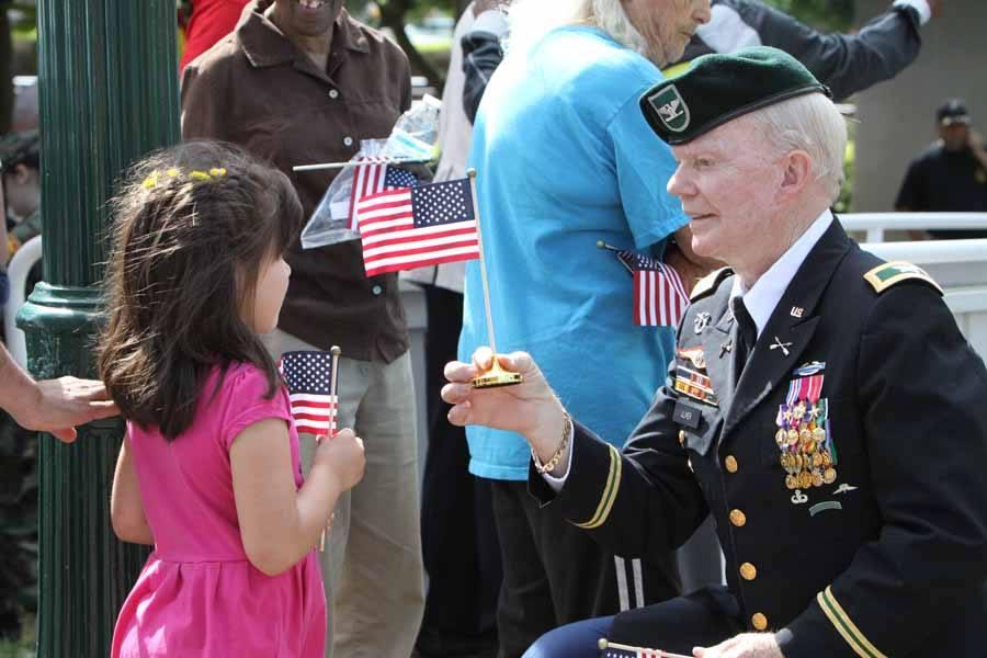 North Carolina Memorial Day parade