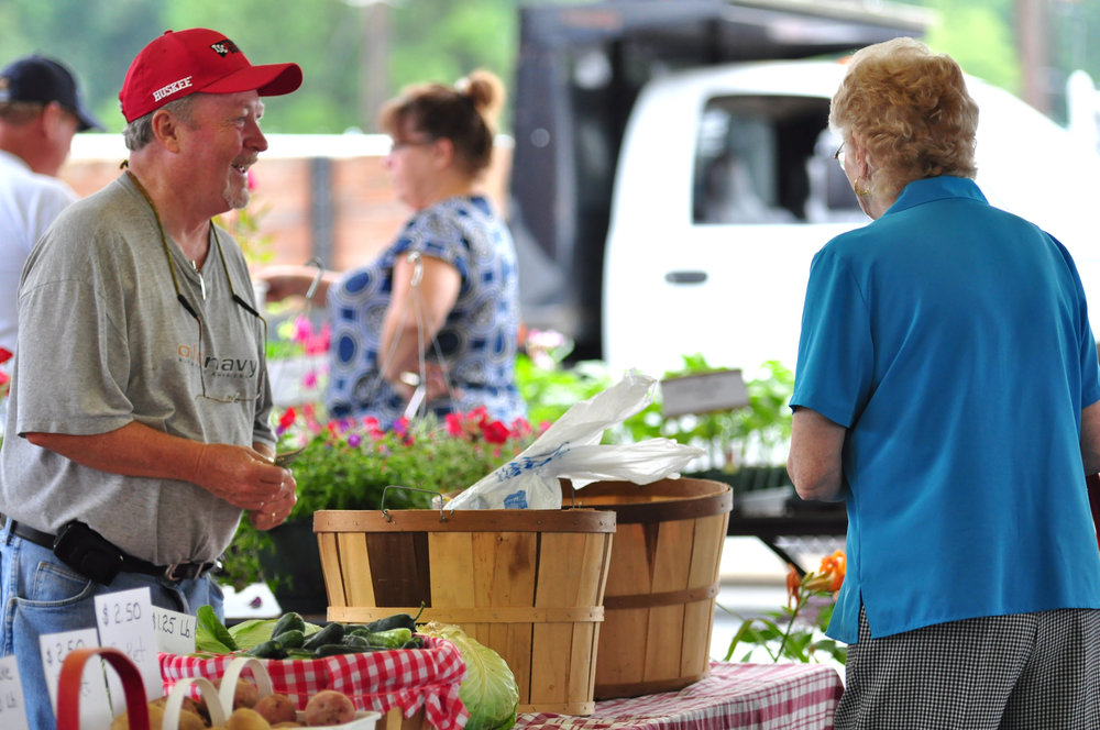 Thomasville farmers market