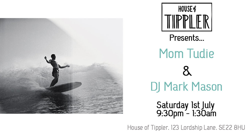 From just down the road mom tudie is popping over to deliver a killer set! His first performance at Tippler we can't wait to see what he has in store for us... x House of Tippler resident Mark Mason is a London based DJ with over twenty years' experience. He's played at some of the best venues in the world, including PACHA (both in London and Ibiza), Ministry Of Sound (where he had the great pleasure of playing with Dennis Ferrer) and Boiler Room in the USA (working with Kerri Chandler and the amazing Frankie Knuckles) Here's a link to a mix of his: https://soundcloud.com/goldfishdragon/gfd-radio-episode-017-ft-mark-mason-semi-retired