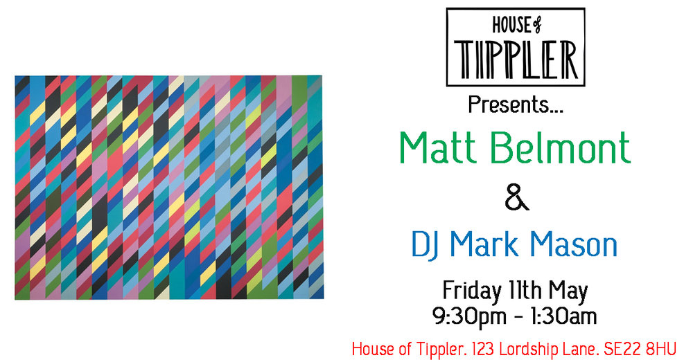 Friday Night Live - Matt Belmont & DJ Mark Mason — House of Tippler
