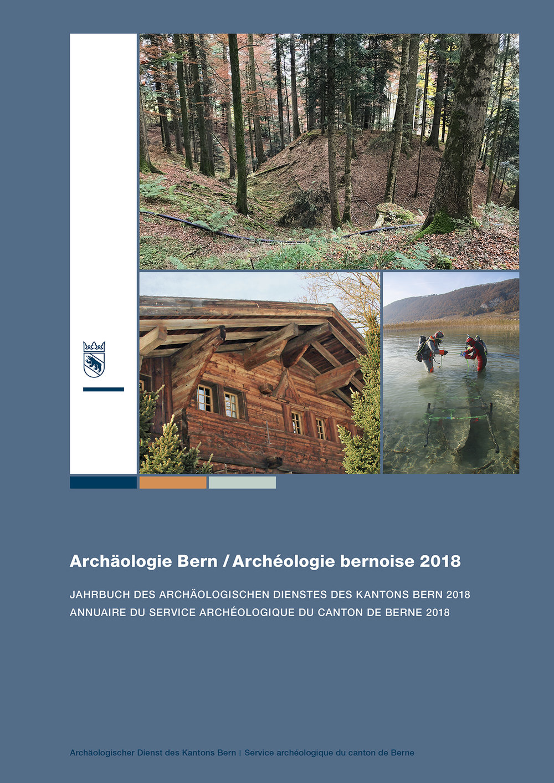 Archäologie Bern / Archéologie bernoise 2018. Jahrbuch des Archäologischen Dienstes des Kantons Bern 2018/ Annuaire du Service archéologique du canton de Berne 2018. Bern 2018. 288 Seiten mit 387 Farbabbildungen. Preis: CHF 56.–. ISBN 978-3-9524659-5-0.