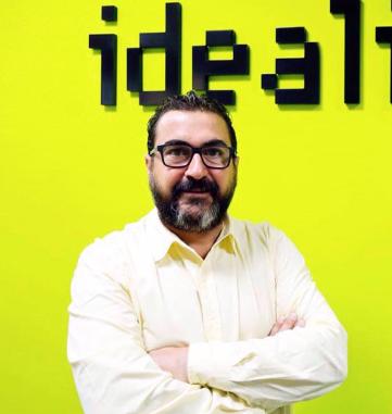CARLOS RUEDA: Director IDEALISTA Andalucía, Canarias, Murcia, Albacete, C.Valenciana y Extremadura.