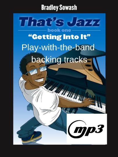 That's Jazz Method 1 - Getting Into It - hard copy — Bradley