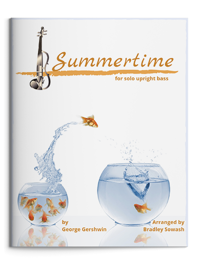 Summertime - Solo upright bass - PDF$7.99 - (External purchase link due to copyright restrictions)