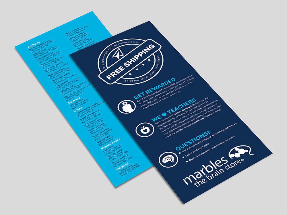 Store Info Leaflet