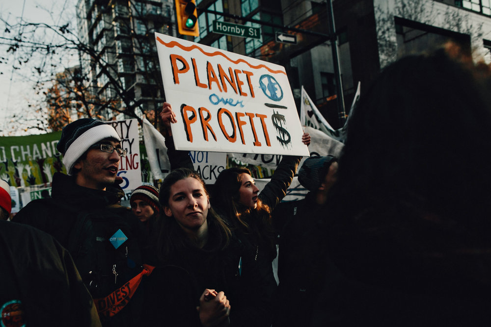 Climate March, Vancouver Canada 2015
