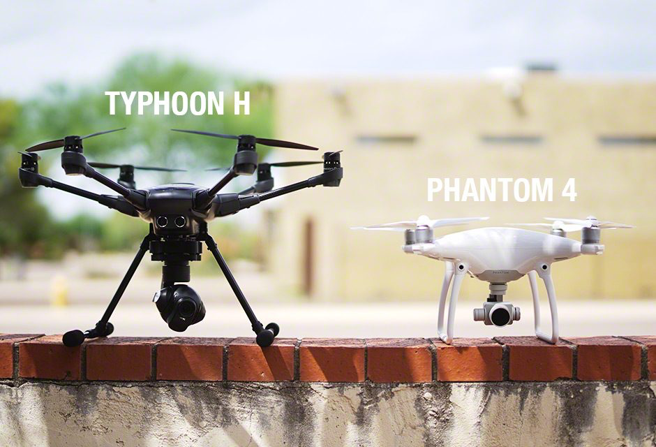 Commercial drones our Team flies with HD Video and 20 megapixel cameras on board