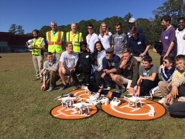 Battery Creek High School, Beaufort SC- Drone Day 2017