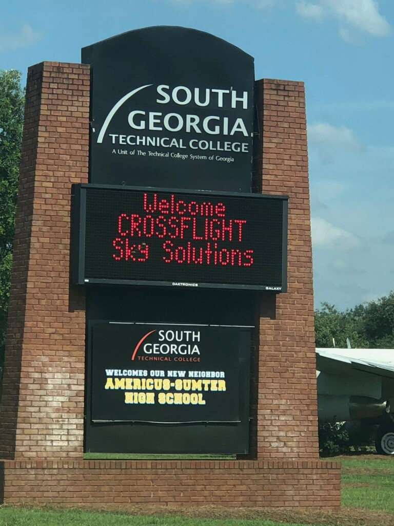 CrossFlight Partners  with South GeorgiaTechnical College to deliver high impact training to students- June 2018