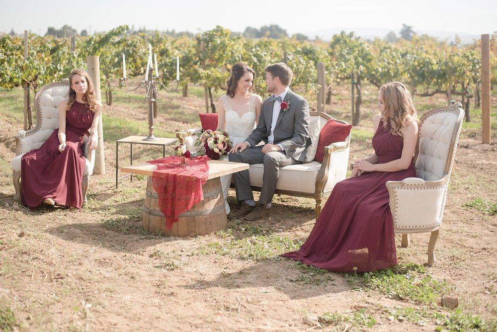 viewpointevents.com | Vintage Rentals in California by View Point Events | Guglielmo Winery Weddings