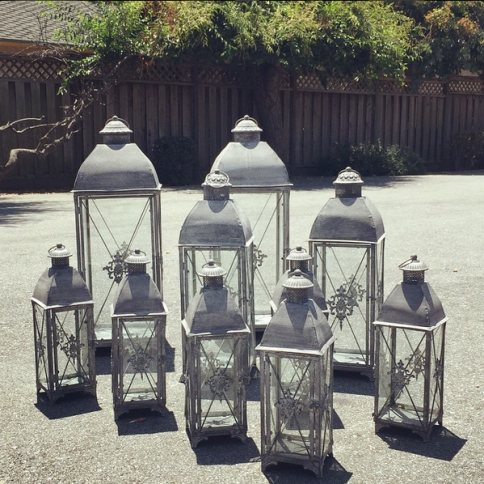 viewpointevents.com | Lanterns for rent in California | Vintage Chic Rentals by View Point Events