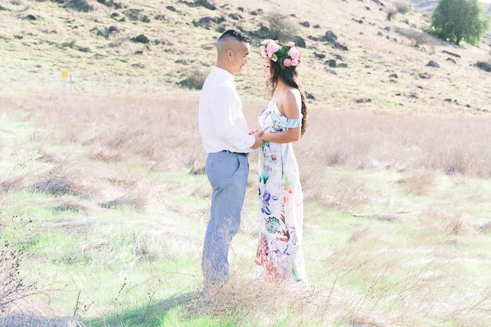 San Jose California Engagement Shoot | View Point Event Rentals | Vintage Chic Wedding Rental Company