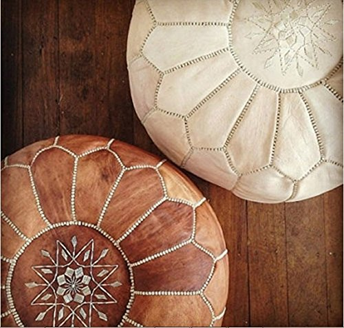 Moroccan Pouf Tan and White.jpg