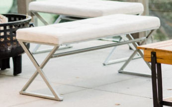 viewpointevents.com | Benches and Ottomans for rent in California | Vintage Chic Rentals for weddings and corporate events