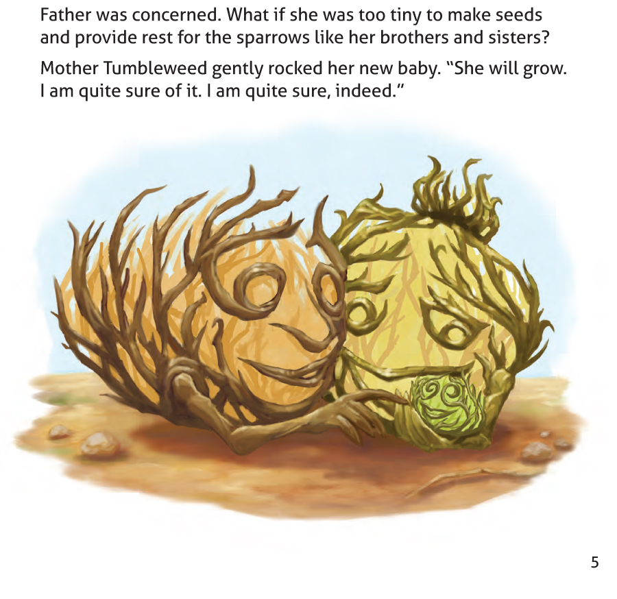 The Tiniest Tumpleweed Sample Page 5