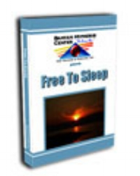 Free To Sleep – Hypnosis Session Audio