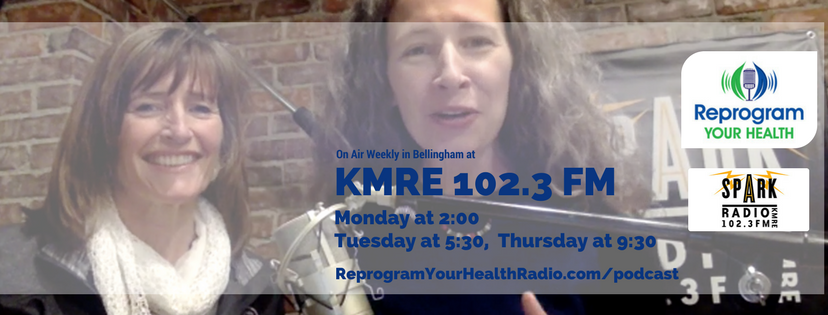 Robin Robertson (co-host), and Erika Flint (host) of Reprogram Your Health Radio airs on KMRE 102.3 FM.