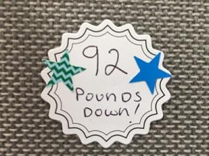 92 Pounds Down!