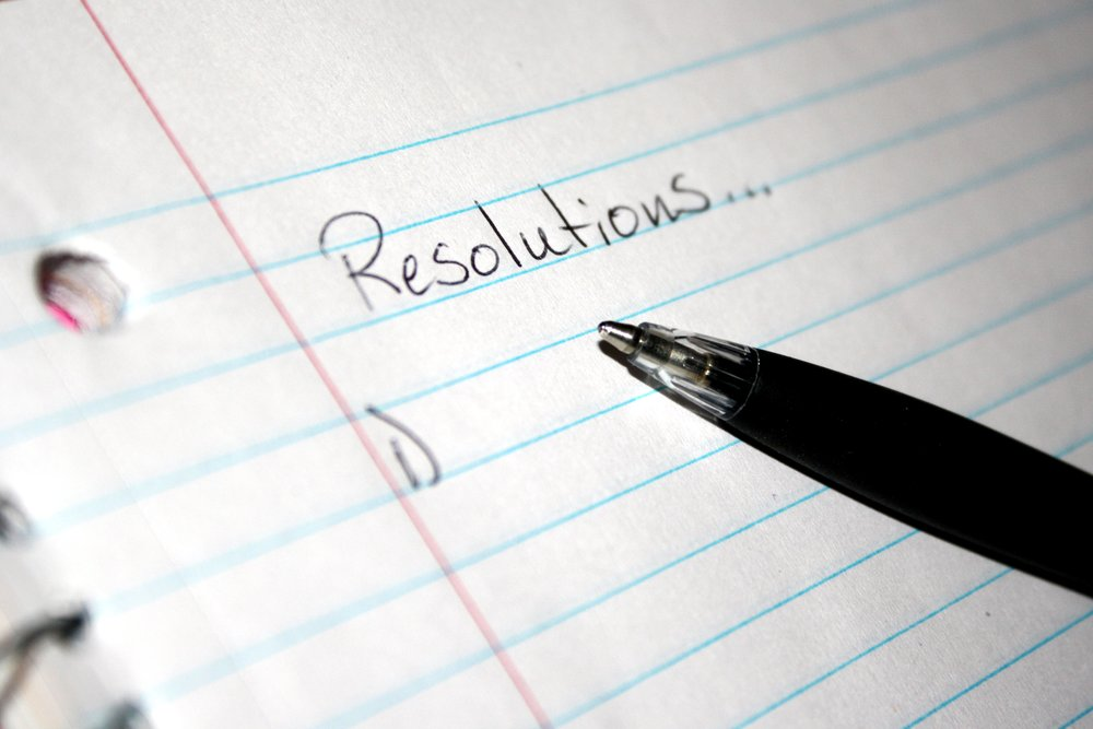 What are you resolutions