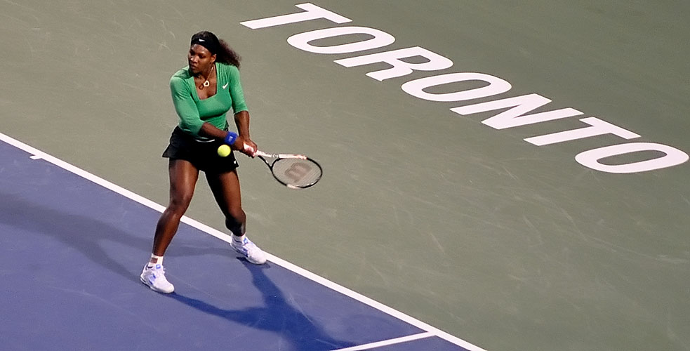 Serena in Toronto | Photo by Ataelw (Wikimedia)