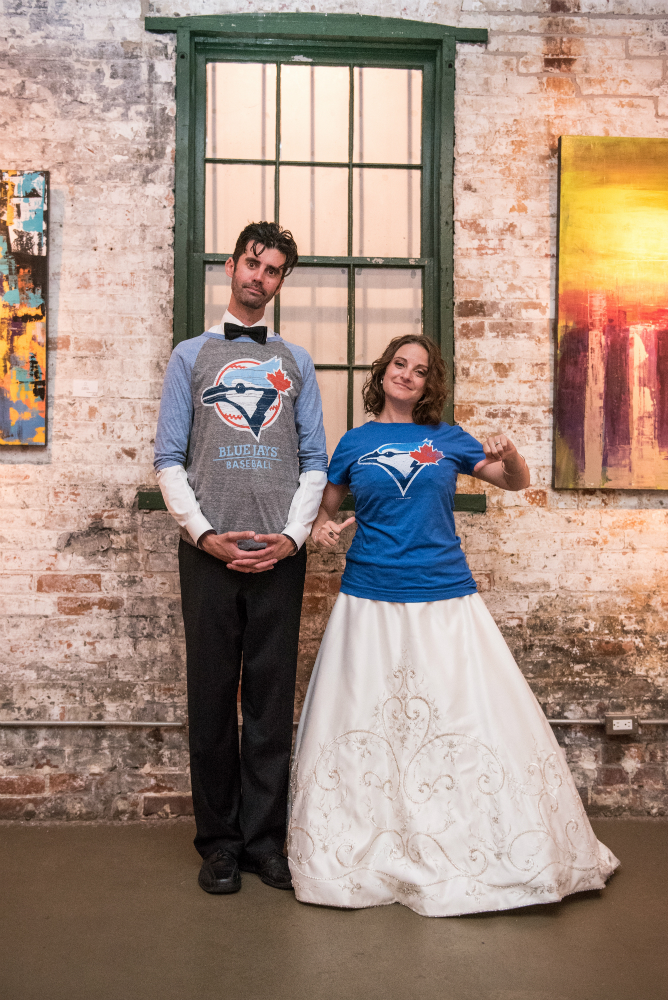 Blue Jays Wedding | Photo by Dahlia Katz