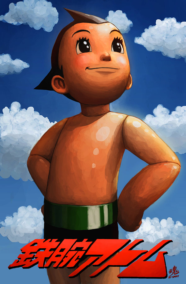 Astro Boy | Image by  Ry Spirit
