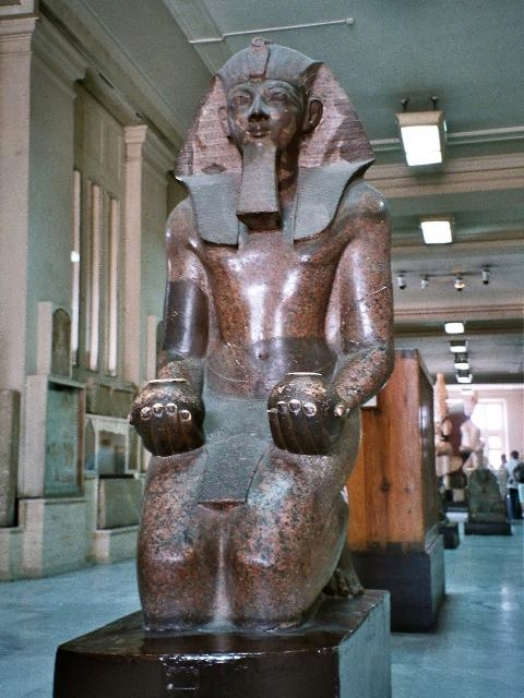 Queen Pharaoh Hatshepsut, more than a pretty face, with the beard—and balls—to prove it!  | Photo by Wikipedia