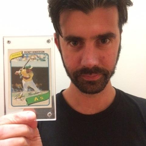 Rickey Henderson Card