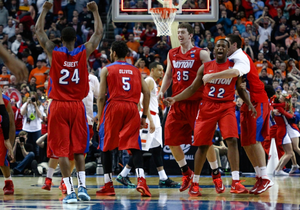 Dayton upsets Syracuse | Photo by  Chad Cooper