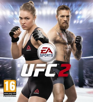 Ronda Rousey and Connor McGregor |  EA Sports
