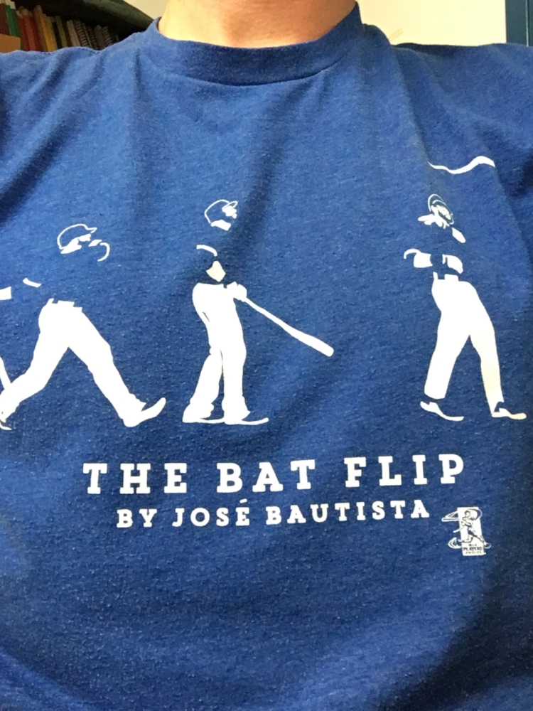 Bat Flip Tee | Photo by Kristoffer Pedlar