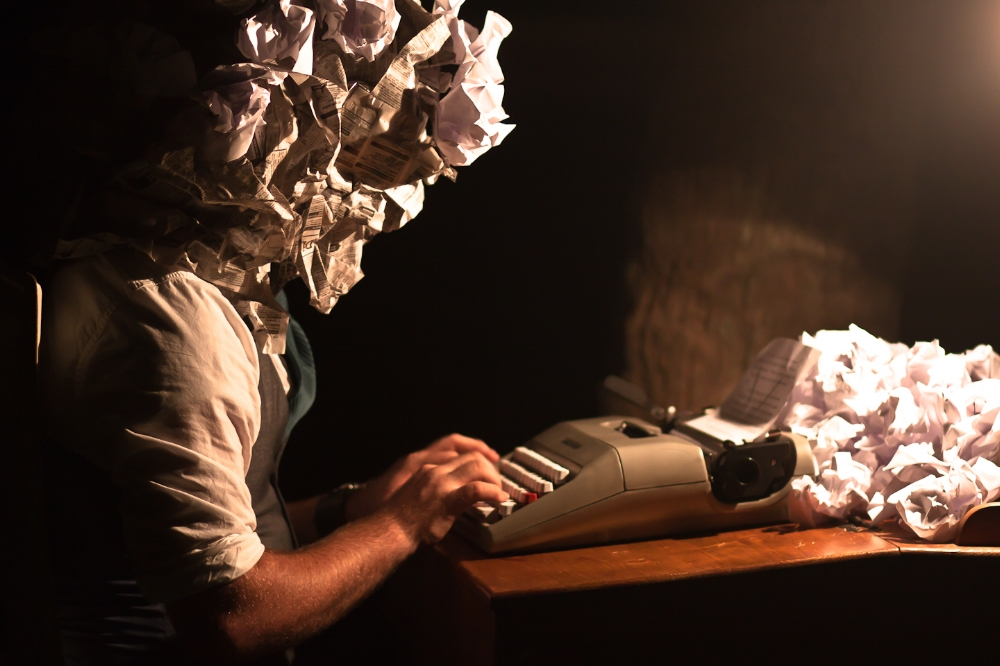Writer's Block | Photo by  Drew Coffman