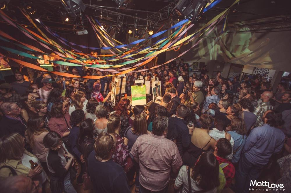 Art Battle Victoria City Finals | Photo by  Matt Love