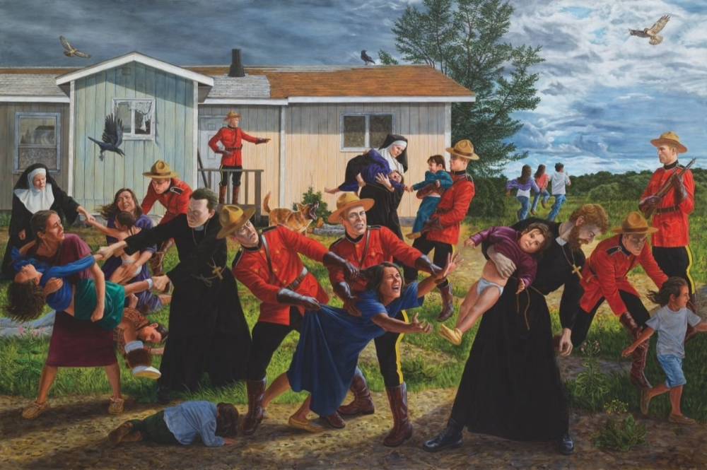 The Scream, 2016 by Kent Monkman | NowCanada