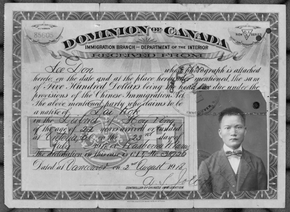 "The Chinese ""Exclusion"" Act 