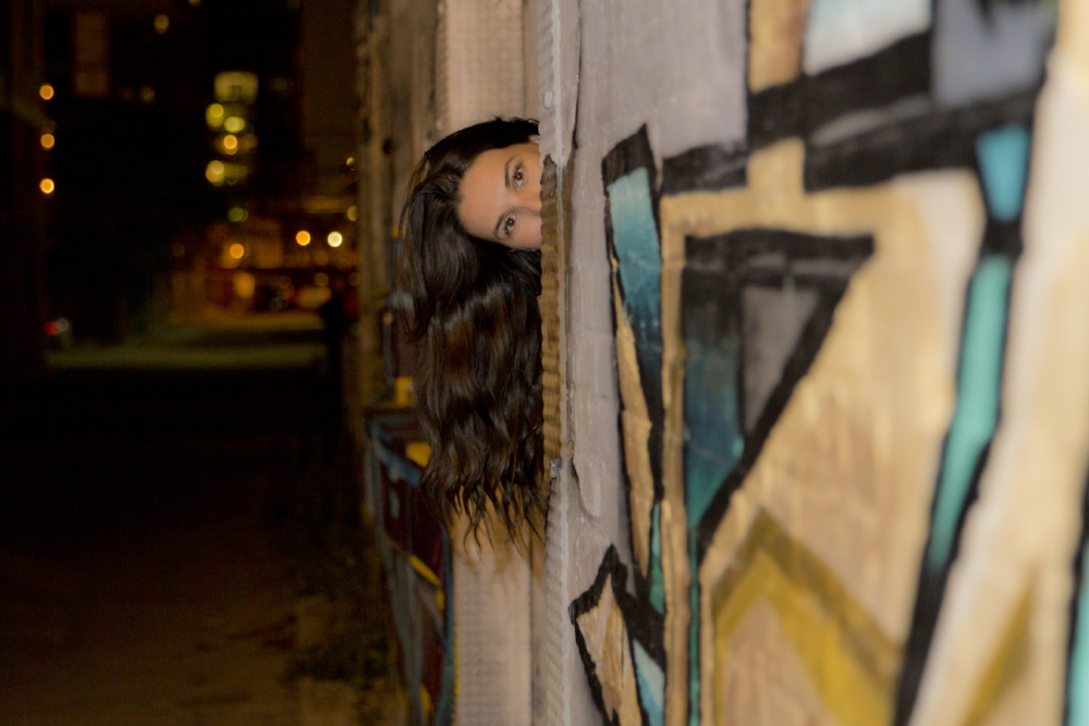 Bianca and Graffiti | Photo by Mike Reid