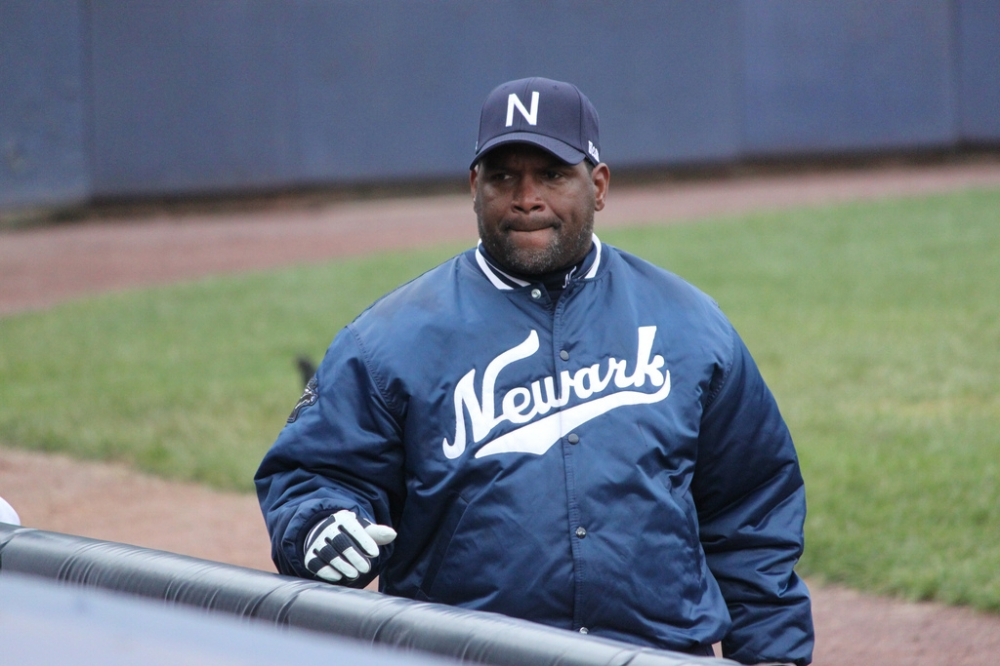 Now Manager Tim Raines | Photo by  Phil Hoops