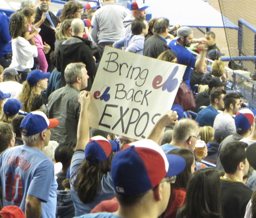 Bring Back the Expos | Photo by  Resolute