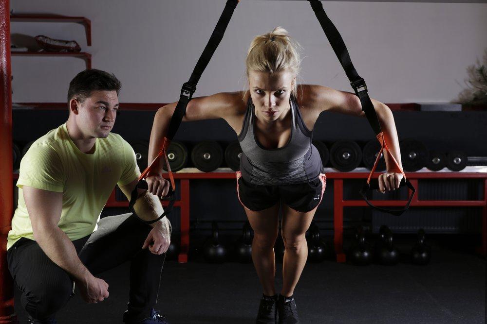 Train like a woman/man | Photo by  Pixabay