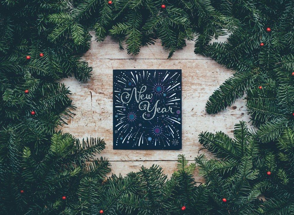 New Year | Photo by Annie Spratt