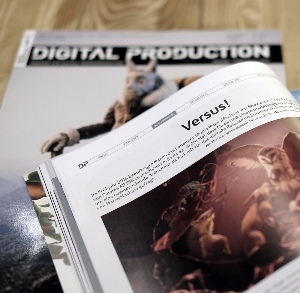 Digital Production Magazine, Edition 01:2017