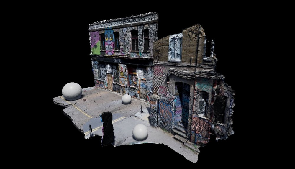 3D Scanning Hackney Wick / Realtime UE4