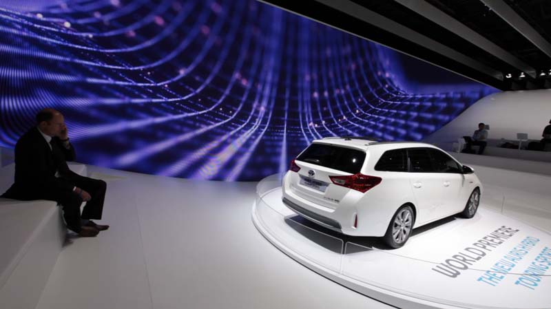 Toyota Paris 2012